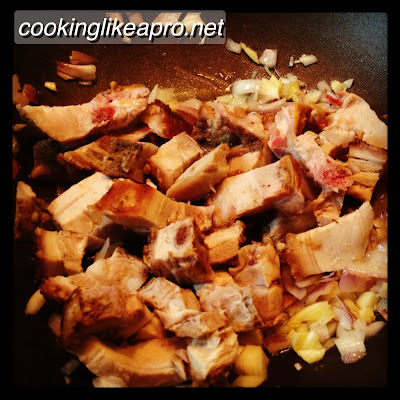 Cooking Lechon Paksiw (Left-over recipe)