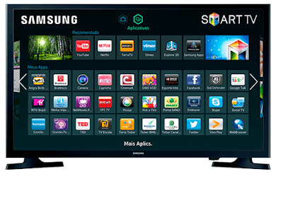 "Smart TV LED 32"" Samsung 32J4300 HD"