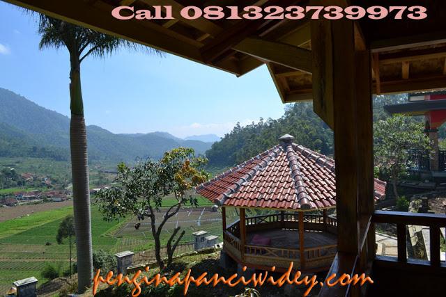 Booking villa di area wisata kawah putih dari madiun