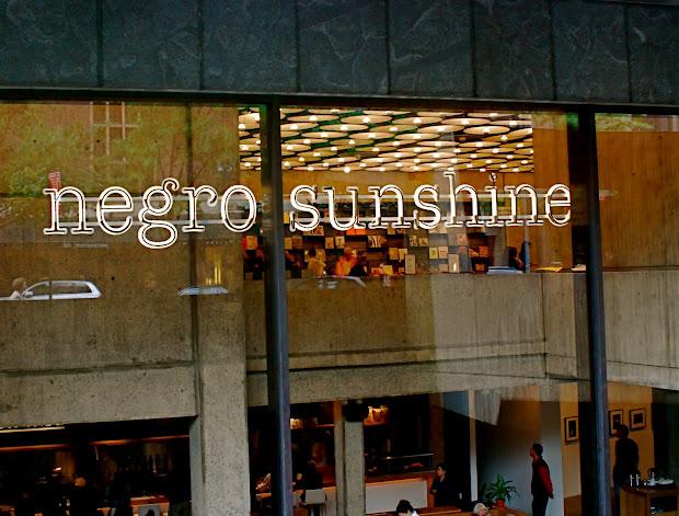 """Nyc """"negro Sunshine"""" Glenn Ligon Whitney"""