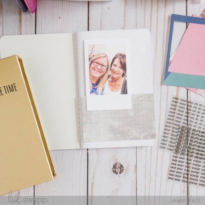 How To Create a Photo Album with the Heidi Swapp Instax  Vintage Mini Journaling Kit by Jamie Pate   @jamiepate for @heidiswapp