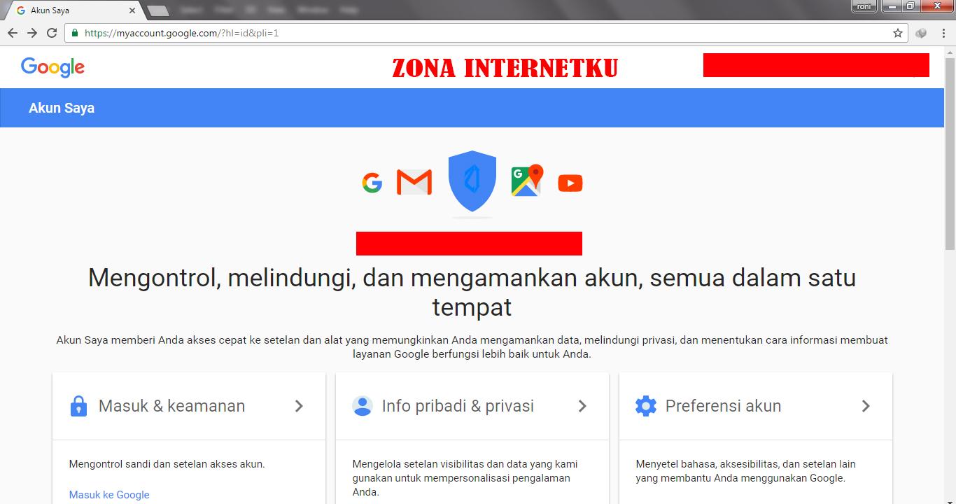 Cara Mengganti Tanggal Lahir Akun Google Saya Zona Internetku