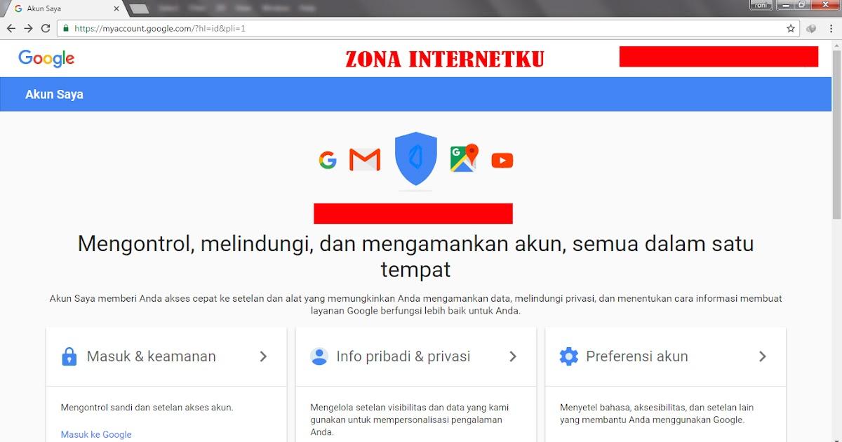 Cara Ganti Akun Google