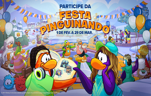 Guia da Festa Pinguinando | Club Penguin 2017