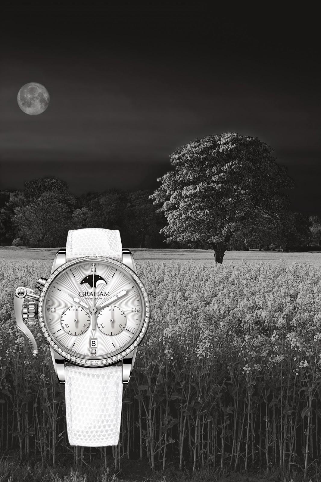 GRAHAM Chronofighter 1695 Lady Moon