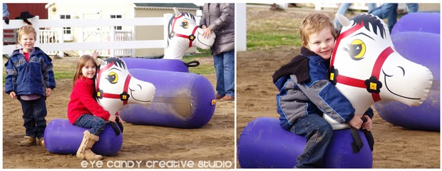 bouncy horse racing for kids