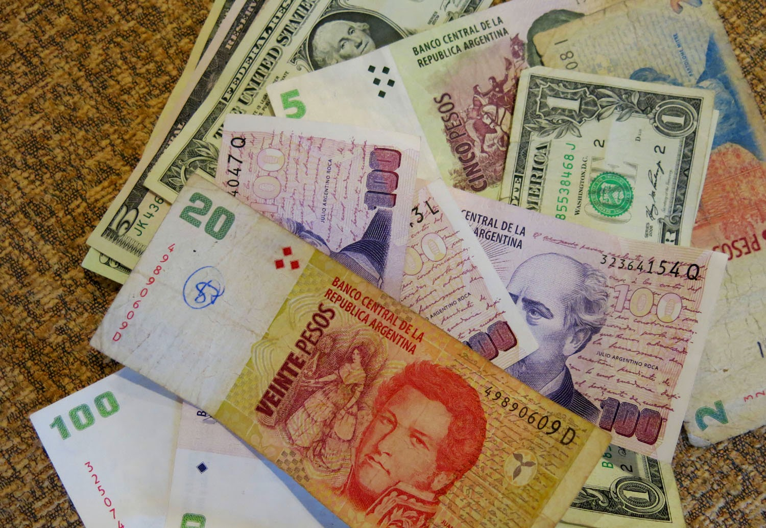 As Confusing It May Sound There Are Two Dollar Rates In Argentina The Normal Rate And Blue Here S Conversion Of Us Dollars To