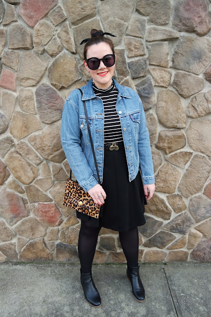 Sequins and Skulls: Leopard & Stripes
