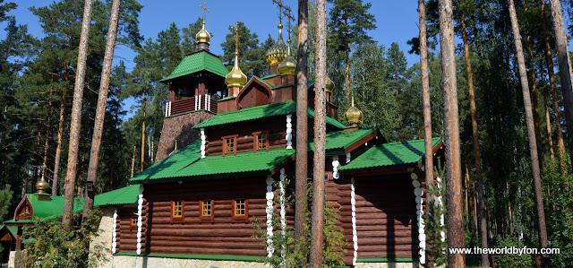 Monastério em Ganina Yama, arredores de Ecaterimburgo