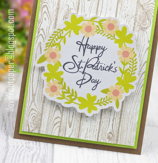 st patricks day, wreath, ilove2cutpaper, LD, Lettering Delights, Pazzles, Pazzles Inspiration, Pazzles Inspiration Vue, Inspiration Vue, Print and Cut, svg, cutting files, templates, Silhouette Cameo cutting machine, Brother Scan and Cut, Cricut