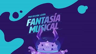 POS FANTASÍA MUSICAL Proyección Laser | Planetario