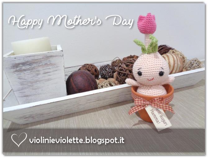 ae6895ec79 Violini e Violette: Bulbo in fiore amigurumi