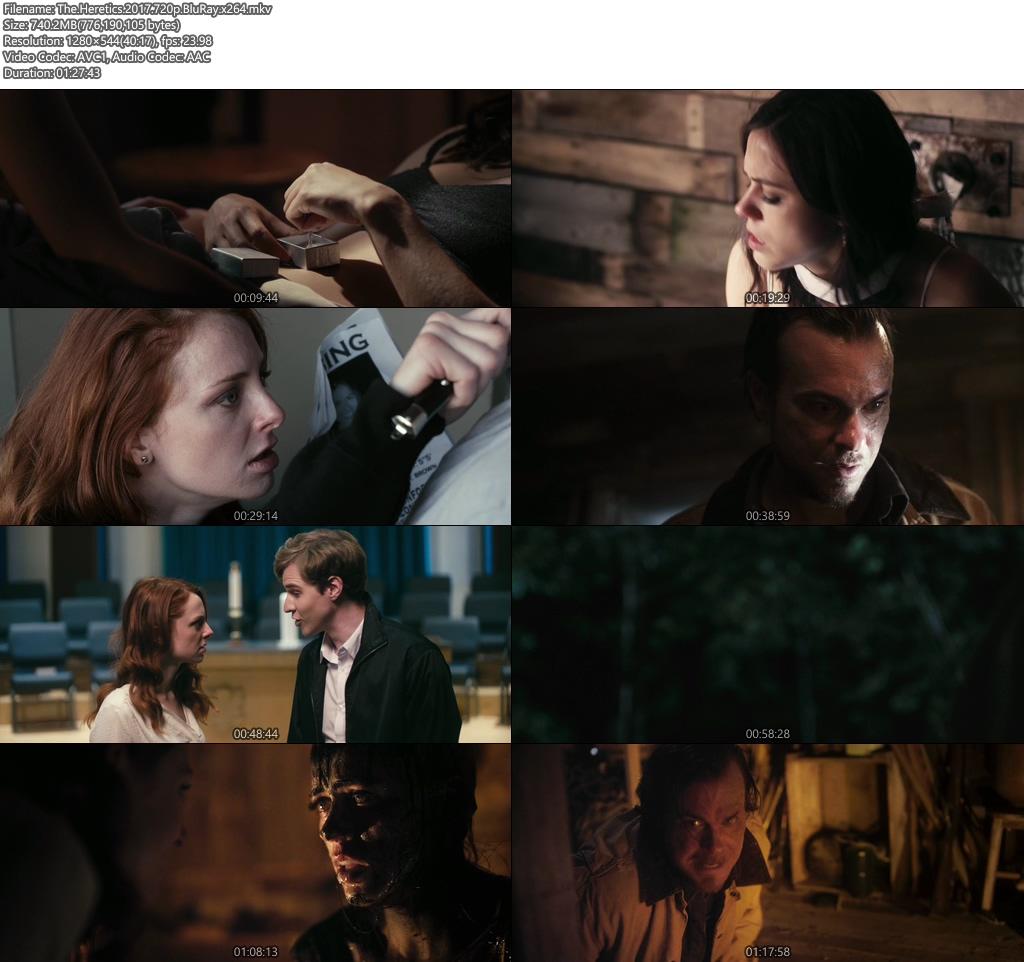 The Heretics 2017 720p BluRay | 480p 300MB | 100MB HEVC x264 Screenshot