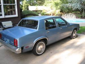 Just A Car Geek: 1982 Oldsmobile Omega With Just 158 Miles