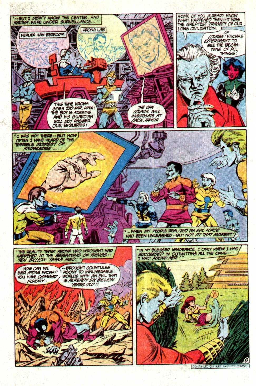 Read online Secret Origins (1986) comic -  Issue #23 - 9