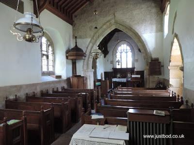 St Hilda's, Ellerburn - interior