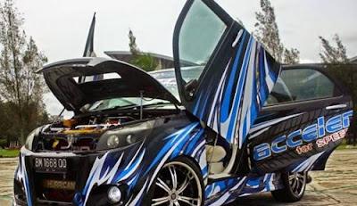 Modifikasi Mobil Toyota Rush Lebih Elegan