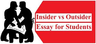 Insider vs Outsider