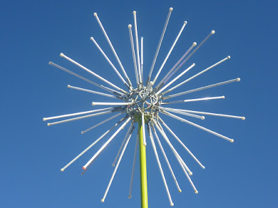 One of the two Electric Dandelions