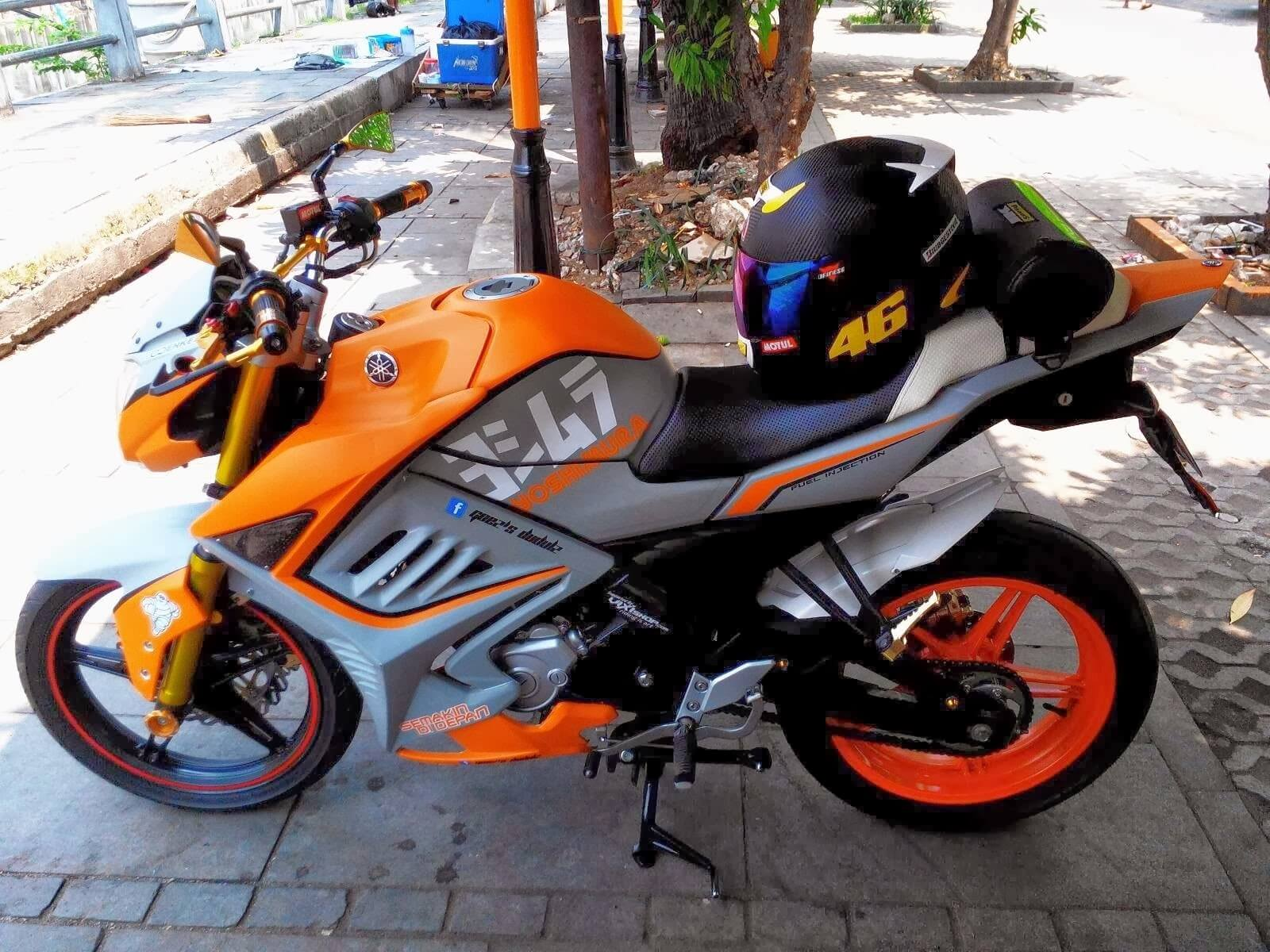 Gambar Modifikasi Motor Yamaha Vixion Terbaru Dan Terbaik