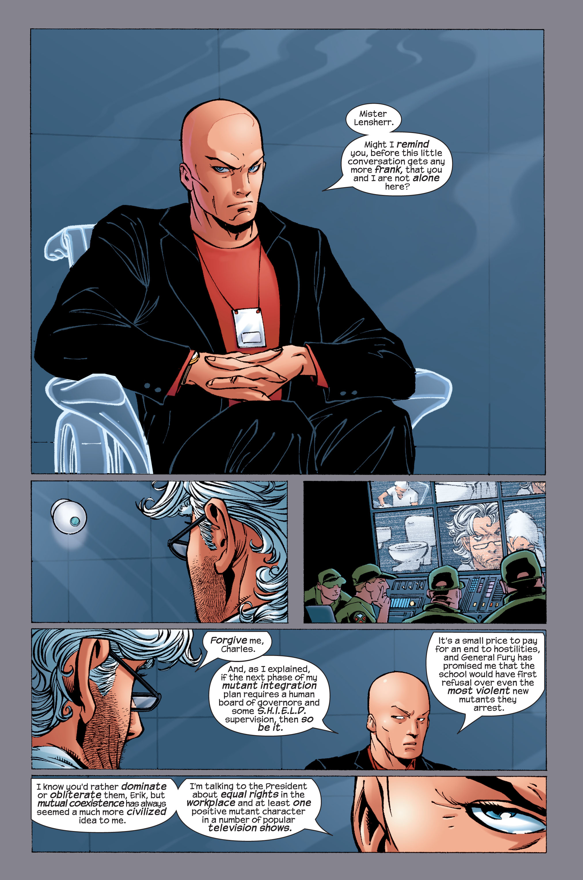 Read online Ultimate X-Men comic -  Issue #33 - 14