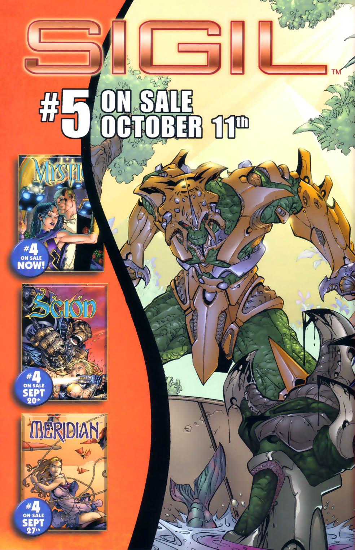 Read online Sigil (2000) comic -  Issue #4 - 35