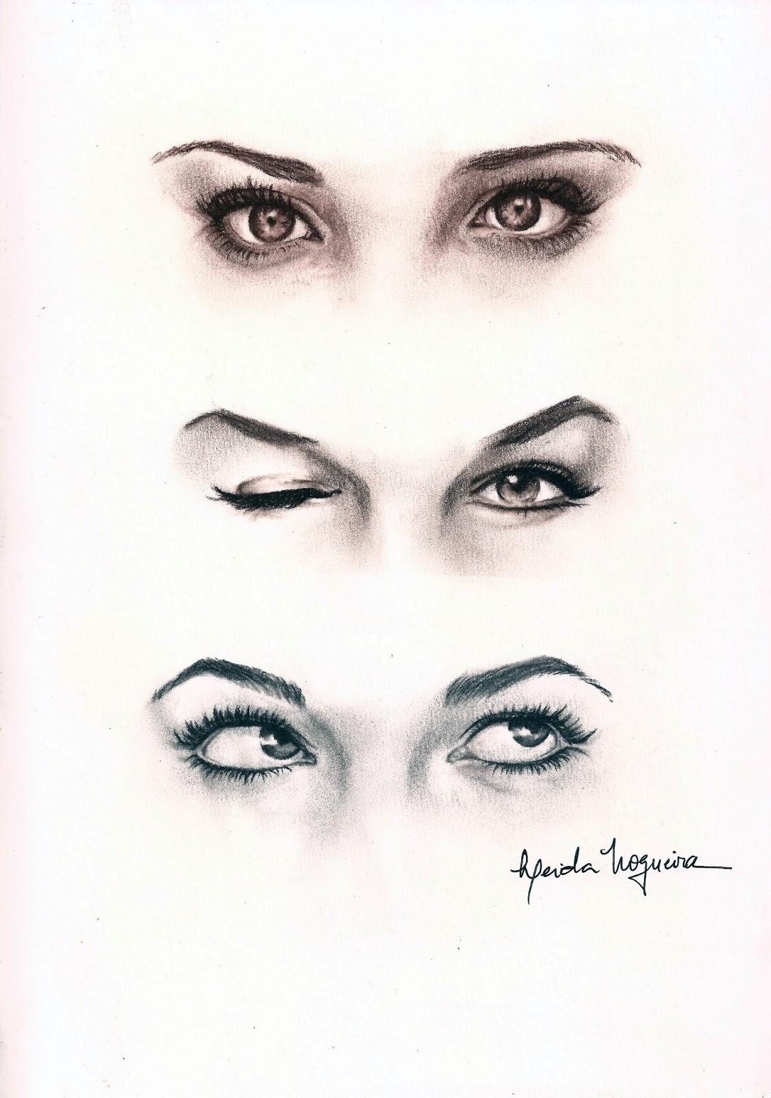 Desenhe Tudo Como Desenhar Um Olho Igual Ao Outro