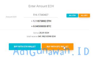 Cara Membeli Ethconnect (ECH)