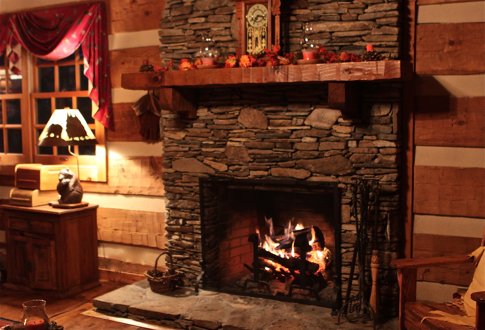 Cozy Fireplace Wallpaper | www.imgkid.com - The Image Kid ...