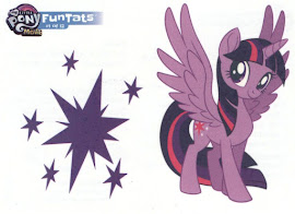 My Little Pony Tattoo Card 1 MLP the Movie Trading Card