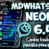 MDWhatsApp v6.45 Neon Edition Latest Version Download Now By MayDroid