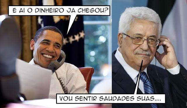 Obama deu U$221 MILHÔES aos Palestinos no último dia de presidência