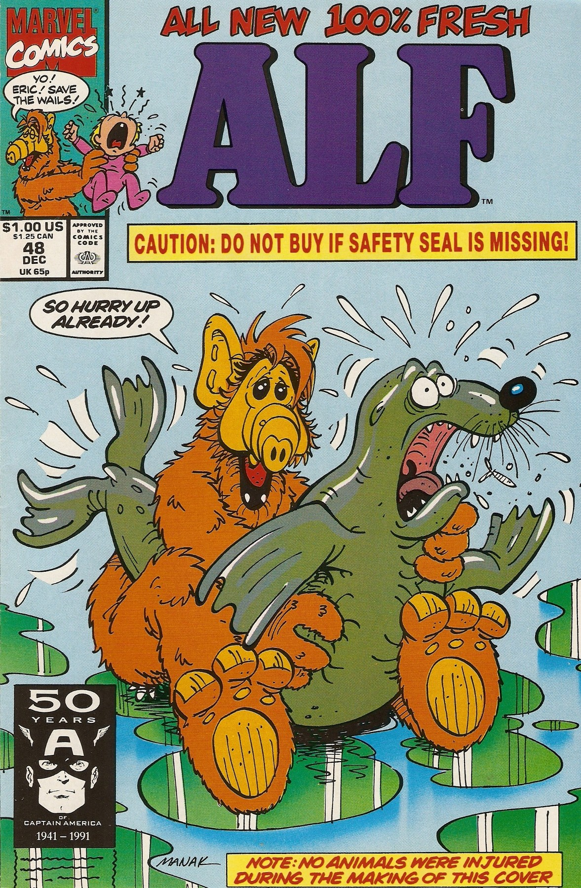Read online ALF comic -  Issue #48 - 1