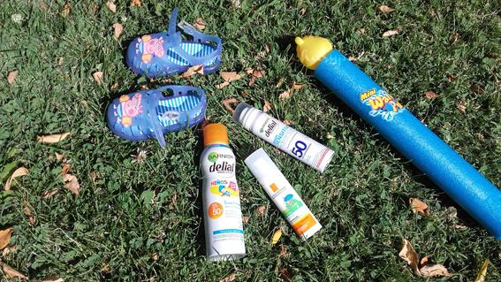 protectores solares bebes