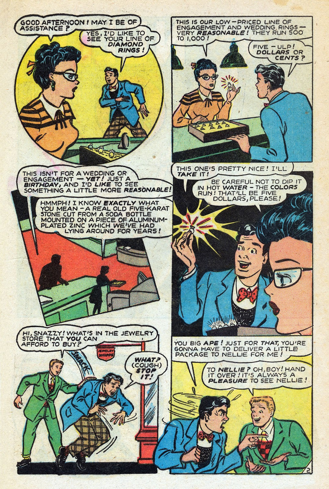 Read online Nellie The Nurse (1945) comic -  Issue #14 - 4
