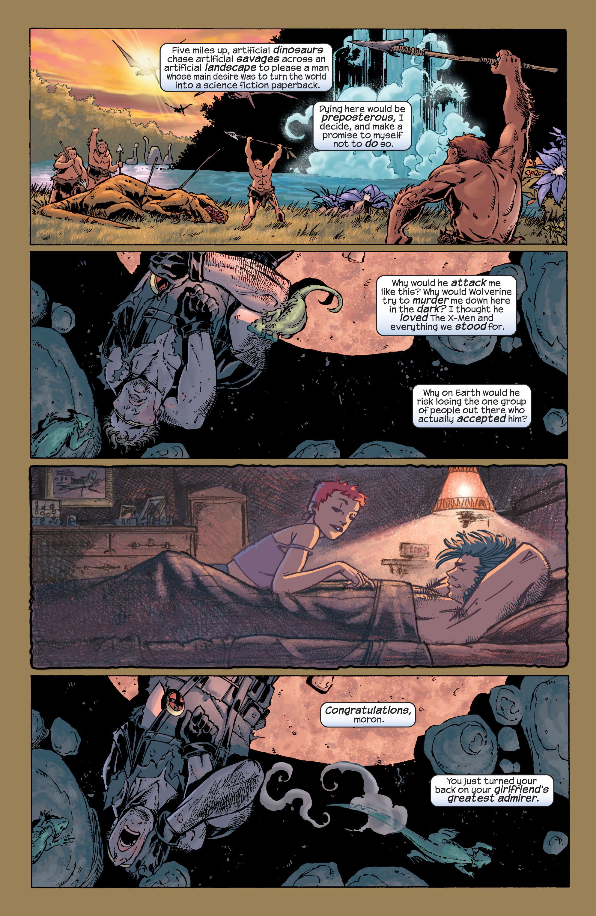 Read online Ultimate X-Men comic -  Issue #29 - 11