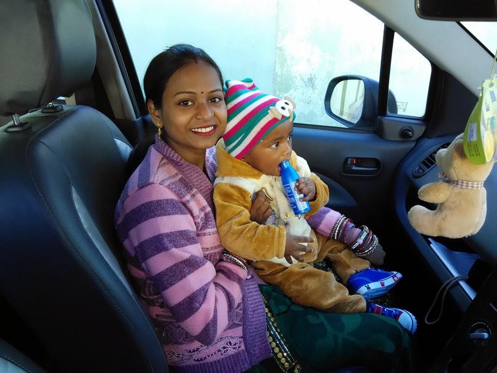 driving to nainital