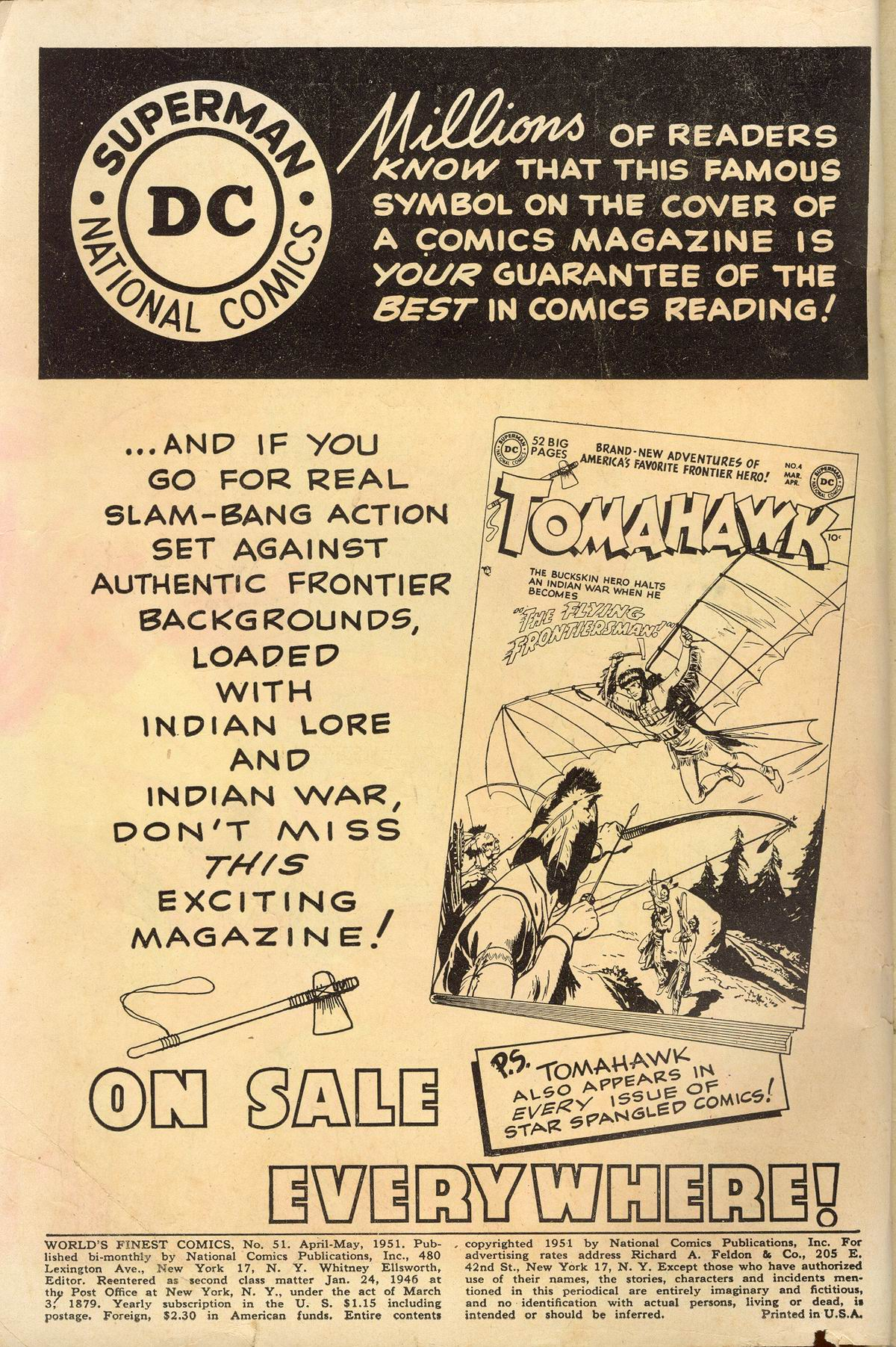 Read online World's Finest Comics comic -  Issue #51 - 2