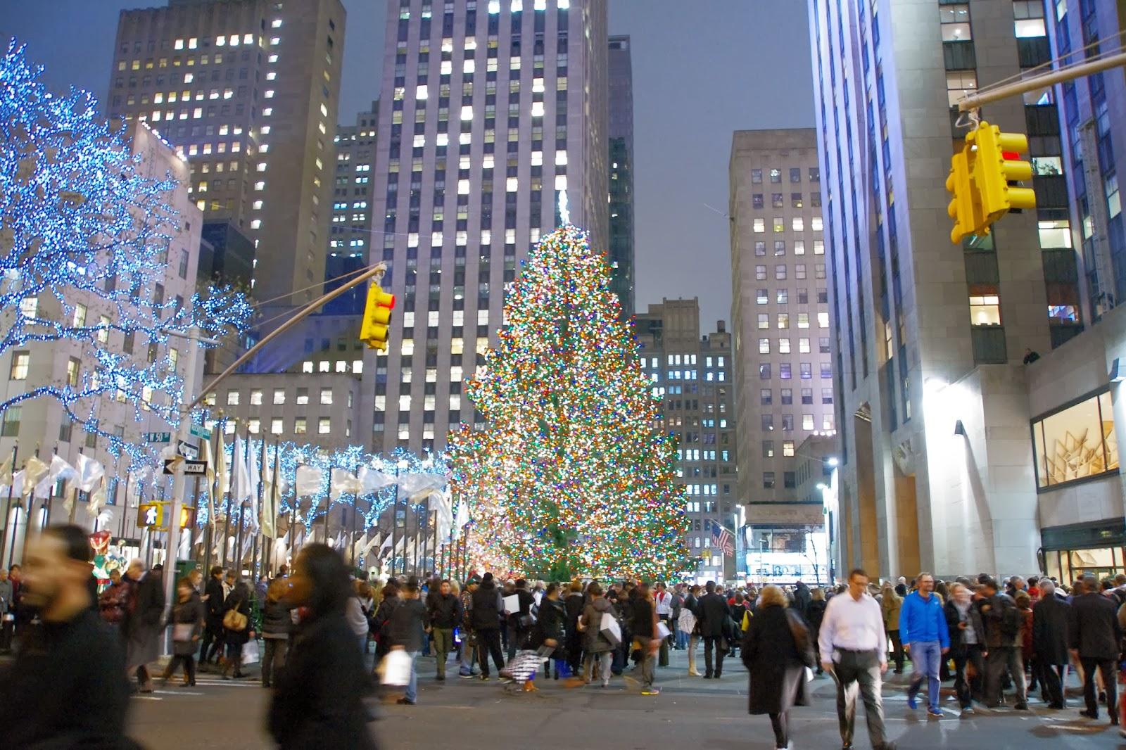 Albero Di Natale New York.Vivere New York Dovenewyork Vivere Il Natale A New York Tutti Gli Alberi Di Natale In Giro Per Nyc