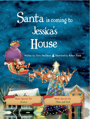 Enter to #win a personalized storybook from Put Me in the Story. #giveaway #Christmas