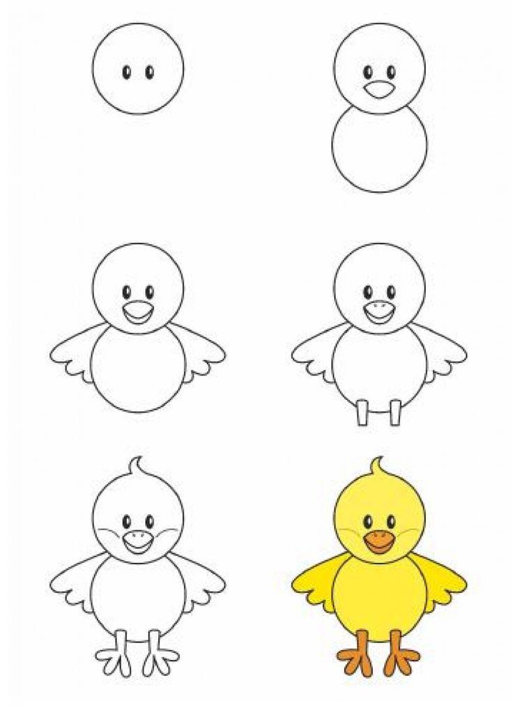 رسومات سهلة للاطفال مع إمكانية تحميلها كاملة