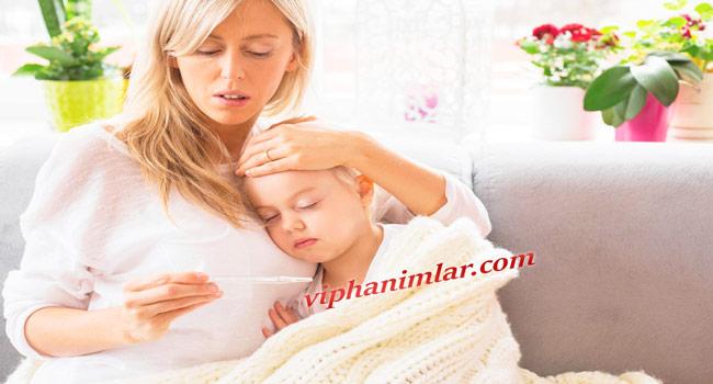 Çocuklarda Ateşi Düşürmek İçin Doğal Tedaviler