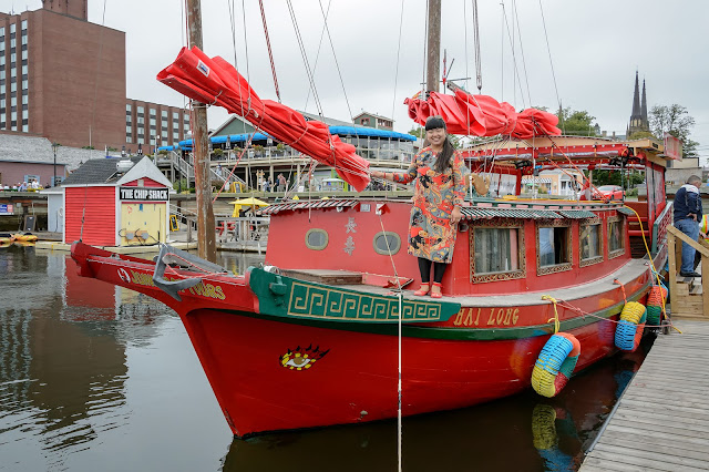 Hai Long - Authentic Chinese Junk