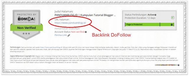 Cara Mendapatkan Backlink DoFollow dari DMCA