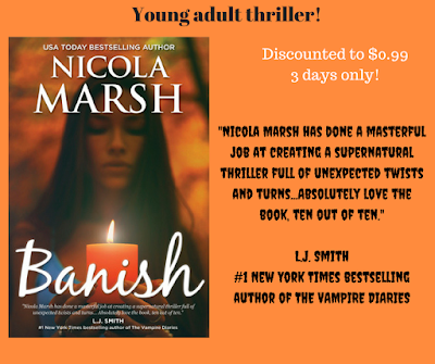 Young adult thriller only $0.99!