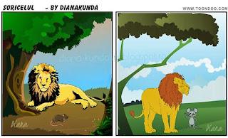 leul si soricelul