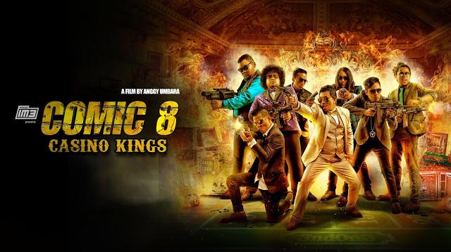 Film Comic 8 Casino Kings (2015)