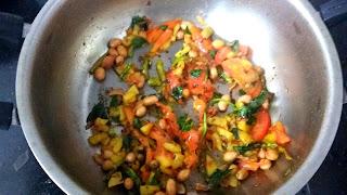 Dahi Batata Poha - Thayir Aval