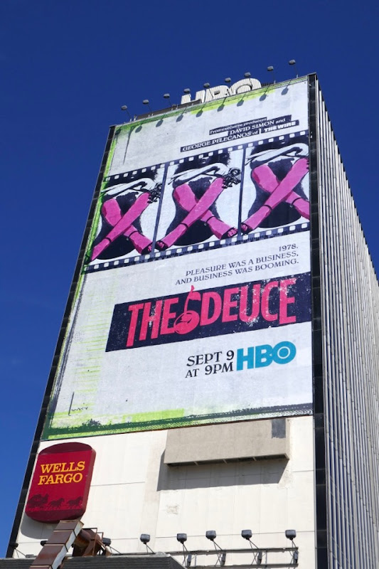 The Deuce season 2 billboard