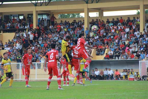 Bengkulu, DetikBengkulu.com, PS Bengkulu VS Persika Karawang Berakhir Imbang